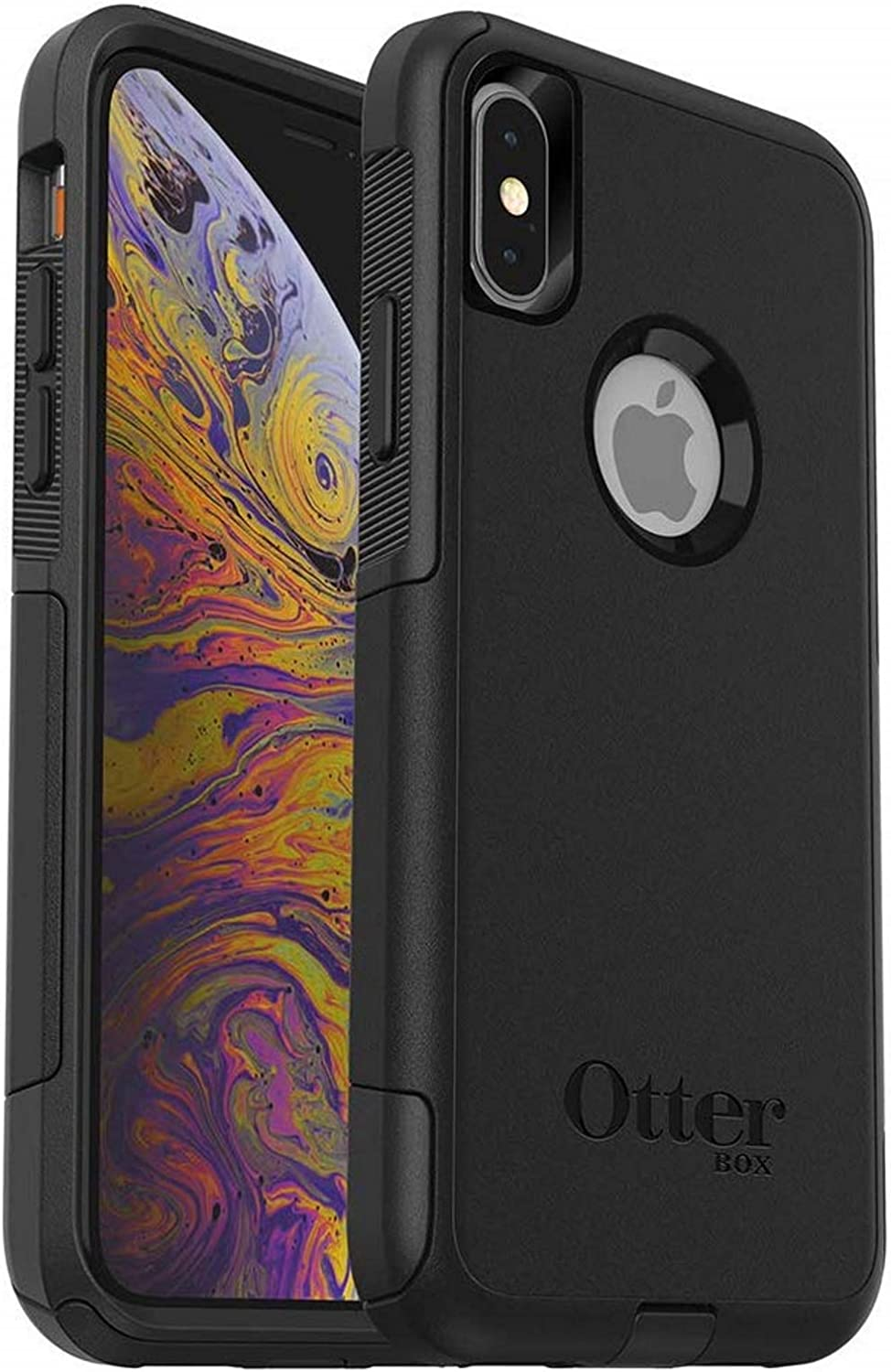 OtterBox Commuter Series Case for iPhone Xs & iPhone X - Bulk Packaging - Black