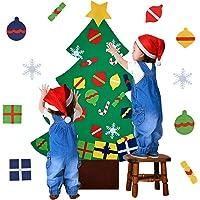 Outgeek Árbol de Navidad en Fieltro, DIY Fieltro