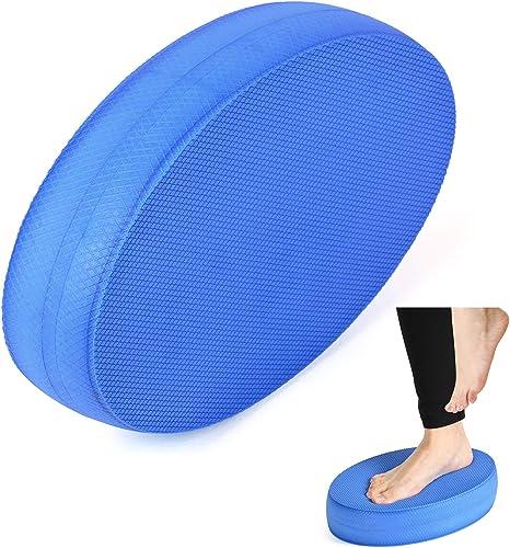 Lixada Espuma Ejercicio Balance Coj/ín Tablero Estabilidad Entrenamiento Pad para Yoga Baile Pilates Fitness