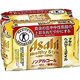 [トクホ]アサヒ ヘルシースタイル ノンアルコール 350ml×6缶パック×6本