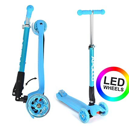 Apollo Patinete - Kids Whiz LED - Plegable - Ajustable en ...