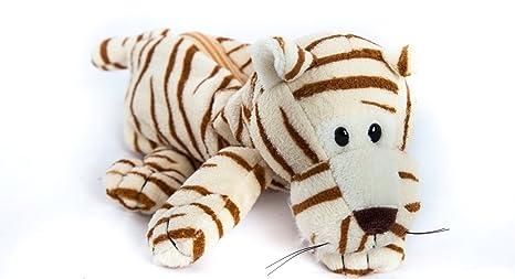 Amazon.com: TGO – Estuche, diseño de tigre de peluche bolsa ...