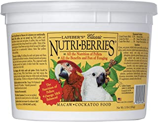 product image for LAFEBER'S Classic Nutri-Berries Pet Bird Food, Made with Non-GMO and Human-Grade Ingredients, for Macaws and Cockatoos