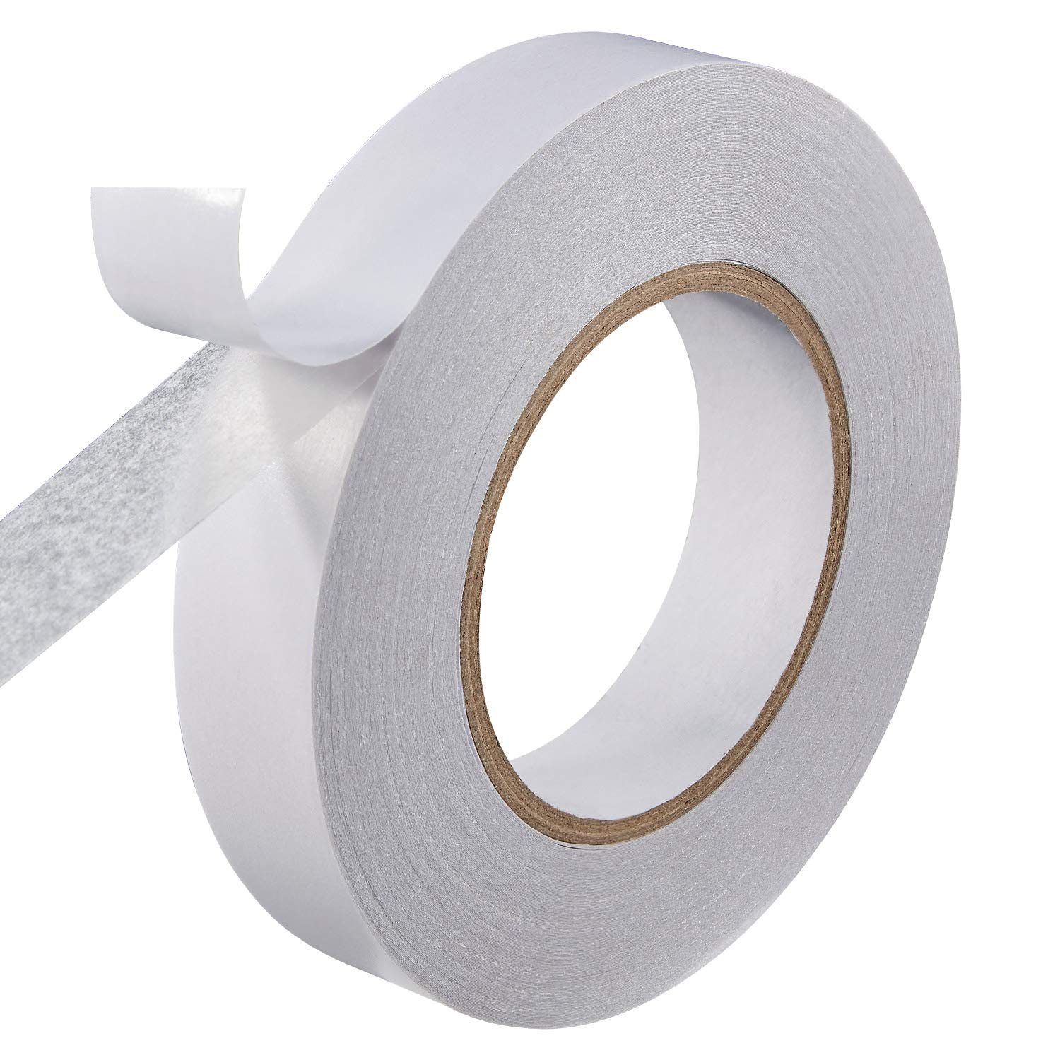 """![CDATA[Best 1"""" Ultra-Thin Permanent Double-Sided Tape for Arts, Crafts, Photography, Scrapbooking, Tear-by-Hand, Paper Backing (1-Inch by 164-Feet/55 Yards)]]"""