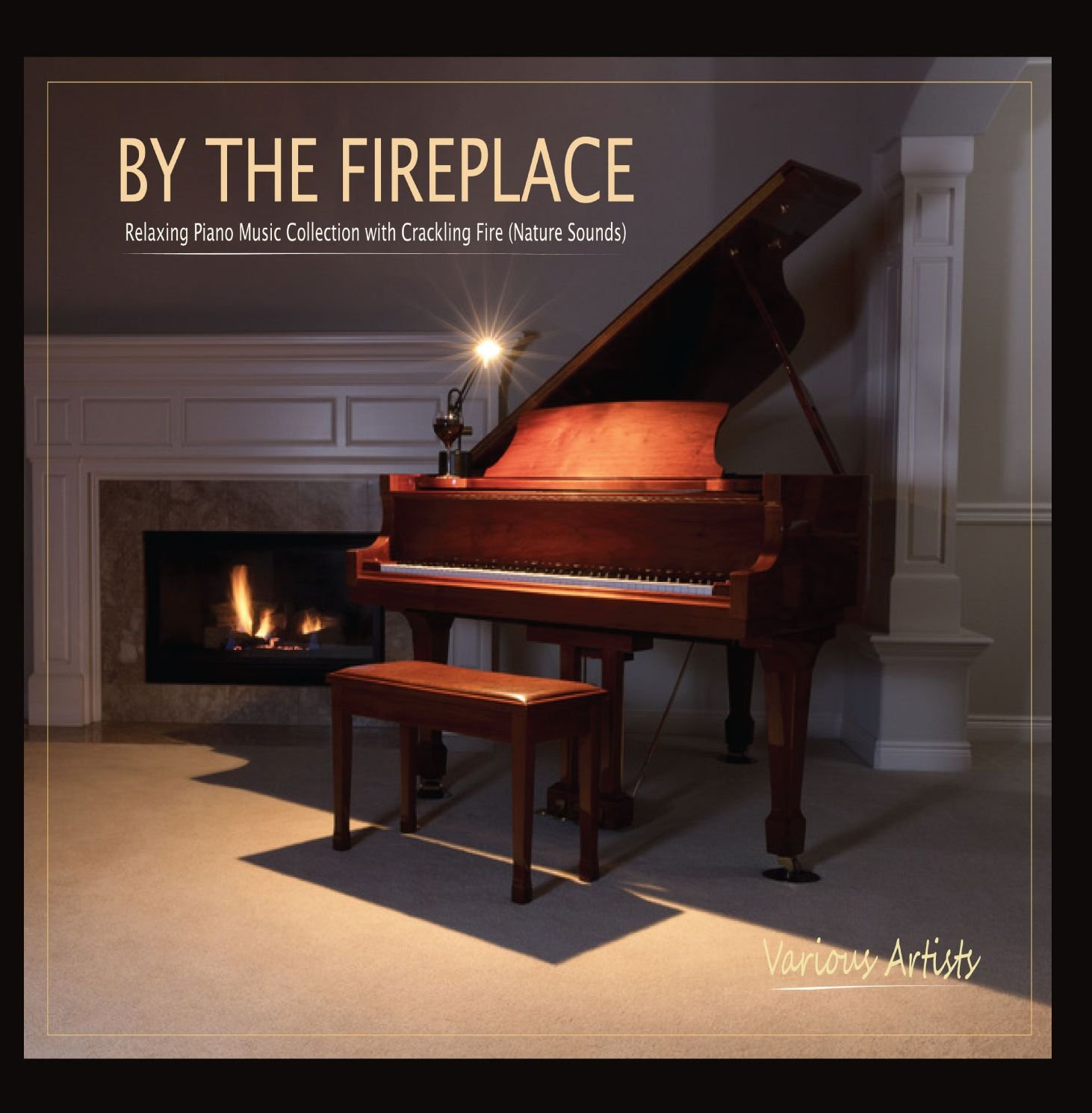 Various Artists - By the Fireplace: Relaxing Piano Music Collection