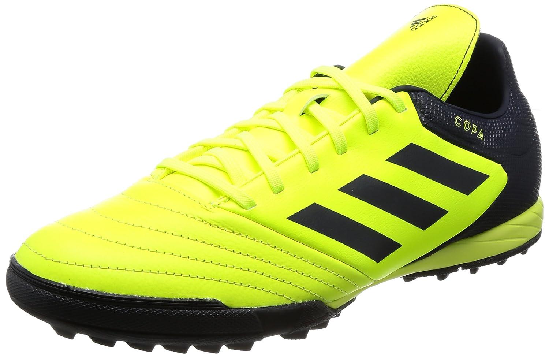 MultiCouleure (Solar jaune Legend Ink F17 Legend Ink F17) adidas Copa Tango 17.3 TF, Chaussures de Football Homme 42 EU