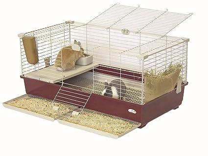 Jaula para roedores, conejos, cobayas, 102 x 53 x 46 cm ...