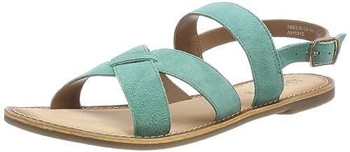2e8aae58a5ffc9 Kickers Diba Sandales Bout Ouvert Femme: Amazon.fr: Chaussures et Sacs