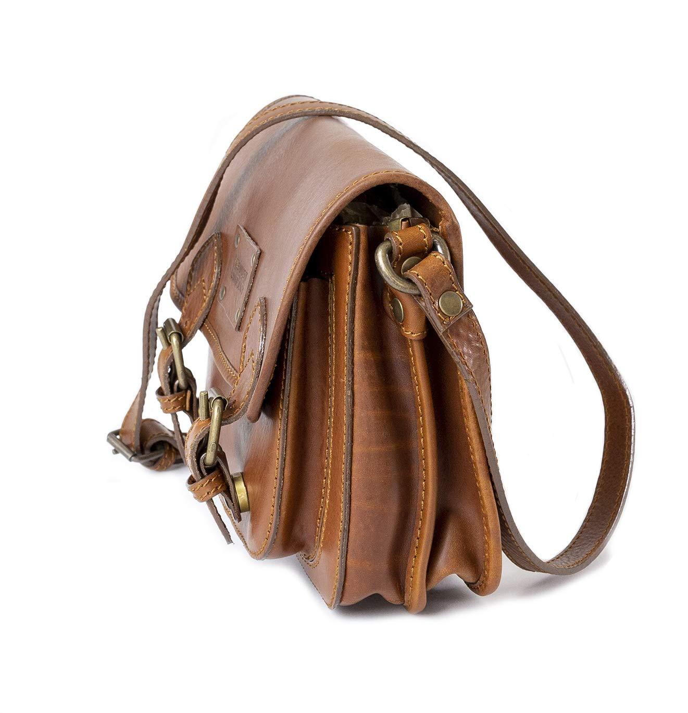 Dust womans leather bag DU152 Brown