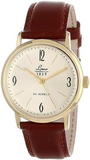 Laco/1925 861780 - Reloj de Pulsera Mujer, Color Marrón: Amazon.es: Relojes