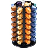 Rice rat Pod Holder for Nespresso Original for Nespresso Original Pods with Central Additional Pods Storage (Carousel-80+ Pod