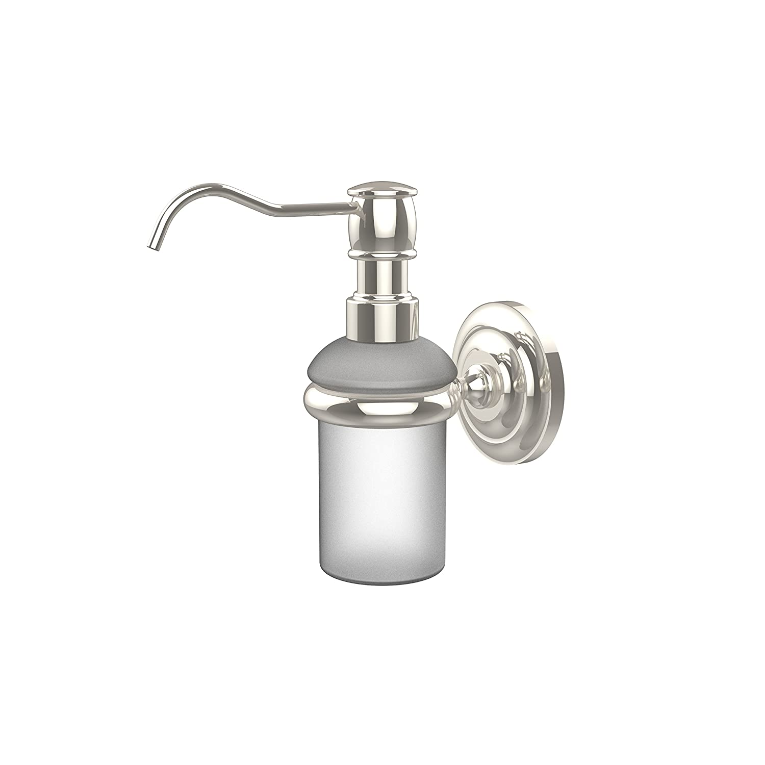 Allied Brass PQN-60-ORB Prestige Que New Collection Wall Mounted Soap Dispenser Oil Rubbed Bronze