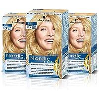 Schwarzkopf Nordic Blonde L1 Aclarante Intensivo, Coloración Permanente Sin Amoníaco, Aclara Hasta 7 Tonos, con Aceite…