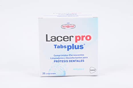 Lacer protabs plus protes dental20 comp: Amazon.es: Salud y cuidado personal