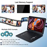 WONNIE 17.9'' Portable DVD/CD Player with