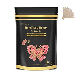Hard Wax Beans 1.1lb 17.6Oz for Painless Hair Removal, Coarse Hair Removal Waxing Beads for Brazilian, Bikini, Underarms, Back and Chest Eyebrow Waxing Beads for Home Waxing Kit (Pink)