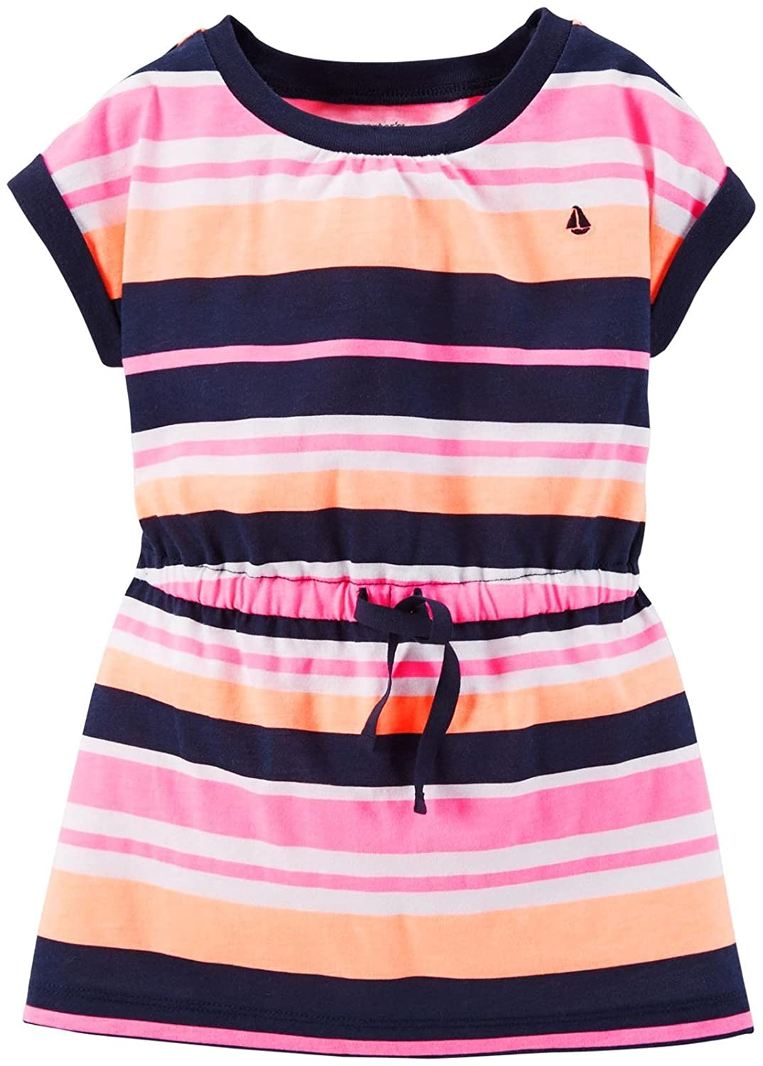 Pink Baby Carters Striped Babydoll Tunic