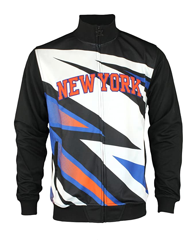 NBA Mens Motorcross Full Zip Track Jacket - Team Options
