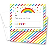 amazon com papery pop 6th birthday party invitations with envelopes