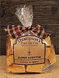 Thompson's Candle Co Super Scented Citrus & Spice Crumbles