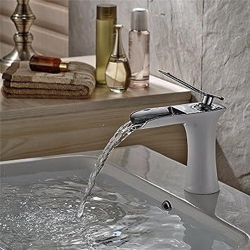 Amazoncom Bathroom Sink Faucet Copper Paint White Black Chrome - Chrome paint for bathroom fixtures