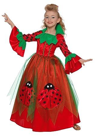 Framboise et Compagnie - Disfraz de princesa mariquita rojo para ...