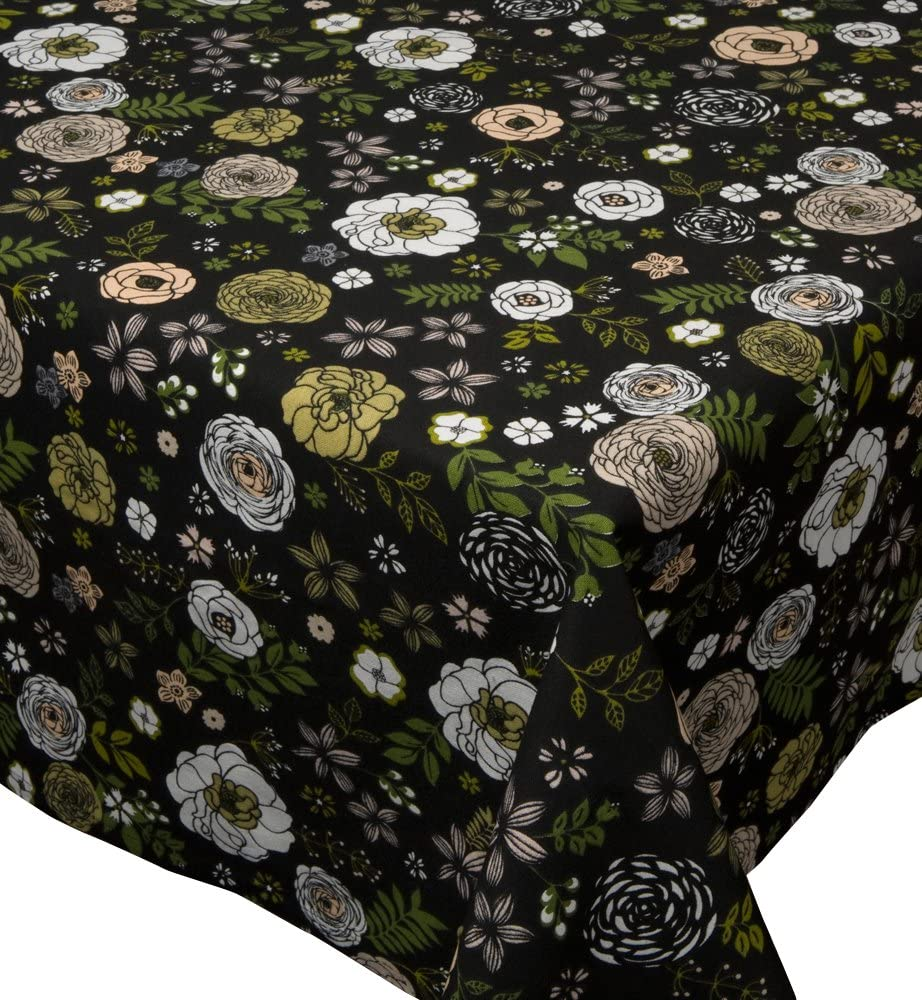 Quantity limited Now Designs 60 by Print Tablecloth 120-Inch Finally popular brand Rosette