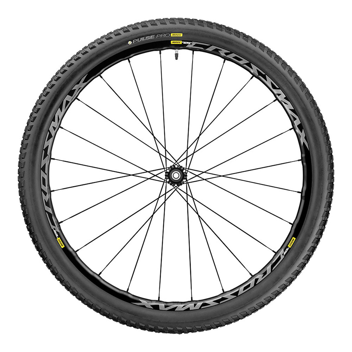 Mavic Crossmax Elite Carbon 27.5フロント B01LYOVTDF  ブラック