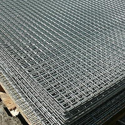 Premium Panel de malla de alambre soldado 8 ft x 4 ft Red de chapa de acero galvanizado 1
