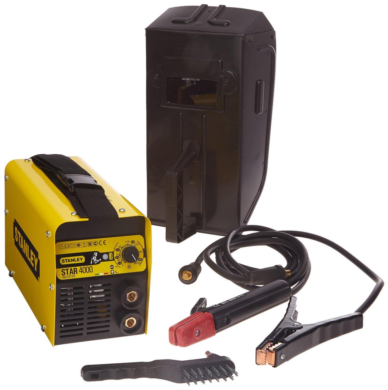 Stanley STAR4000 Equipo de soldadura 5.3 W, 230 V, Amarillo y negro: Amazon.es: Bricolaje y herramientas