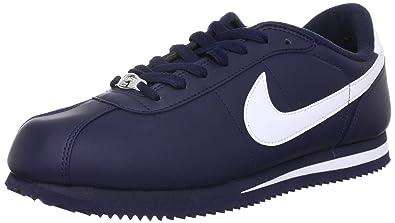 Nike Mens NIKE CORTEZ BASIC LEATHER 06 CASUAL SHOES 13 Men US (BLACK/WHITE