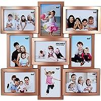 JaipurCrafts Collage Photo Frame (Photo Size - 4 x 6, 9 Photos)