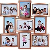 JaipurCrafts Premium Collage Photo Frame (Photo Size - 4 x 6, 9 Photos)