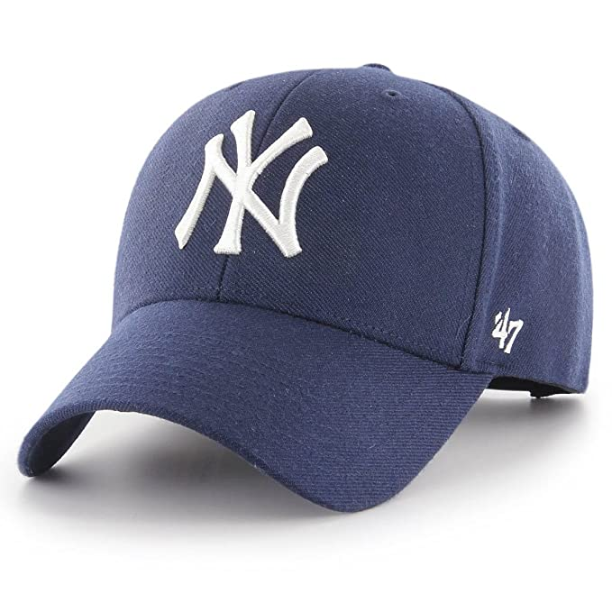 47 Brand MLB NY Yankees MVP Snapback  Amazon.es  Ropa y accesorios 59c72d227d6