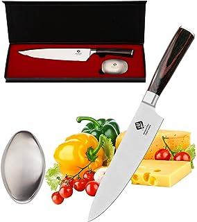 Amazon.com: NOVASKO Premium Heavy Duty Kitchen Shears (Black/Red ...