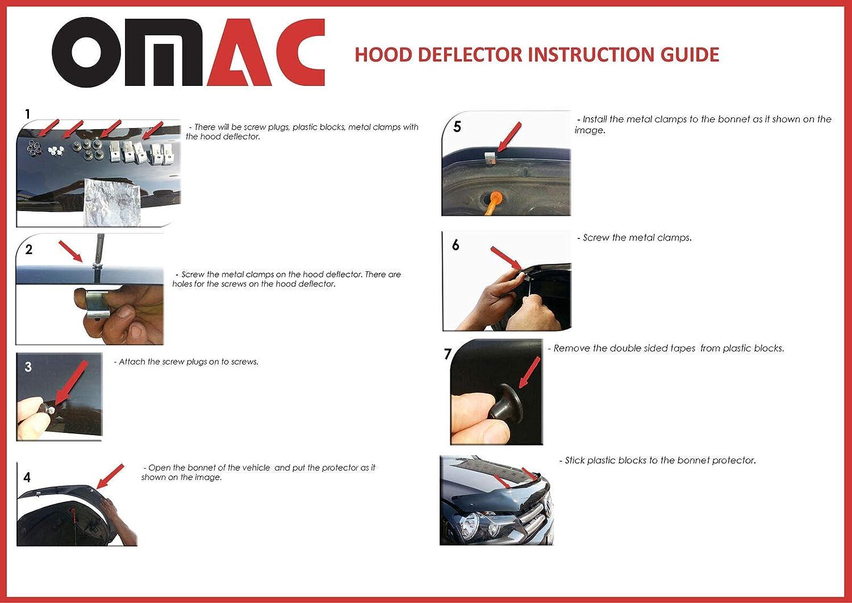 Deflettore per cofano motore insetti e parasassi per T4 tutti i modelli