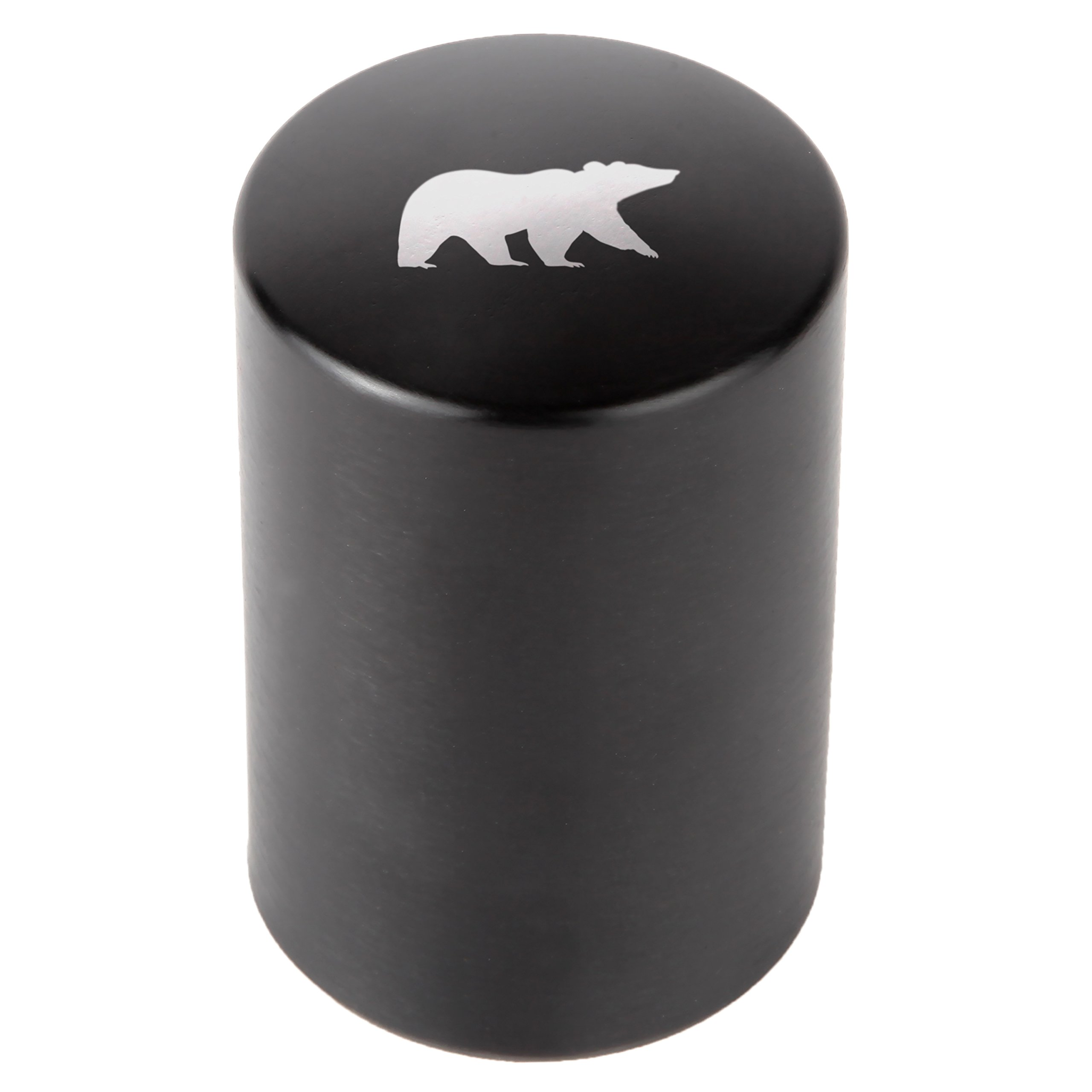 Grizzly Bear Automatic Bottle Opener - Laser Etched Design - Bottle Opener With Catcher - Fast Bottle Opener For Parties, Events Or Everyday Use
