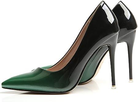 Pointed Toe Zapatos de tacón De BIGTREE Mujer Tacones altos Vestir Zapatos de tacón Gradientes Stiletto Zapatos