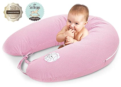 Almohada de enfermería, cojín de lactancia, de calidad, marca SeiDesign 170 x 30