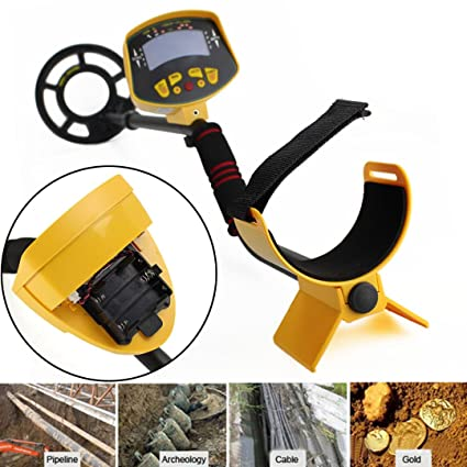 Metal Detector Gold Digger Hunter Deep Sensitive Search LCD Waterproof MD- 3010II