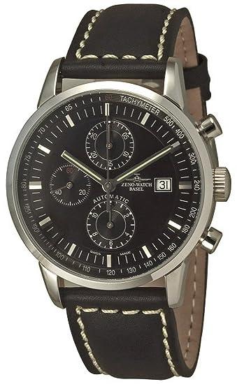 Zeno-Watch Reloj Mujer - Magellano Retro Chrono Tachymeter - 6069TVDI-c1: Amazon.es: Relojes
