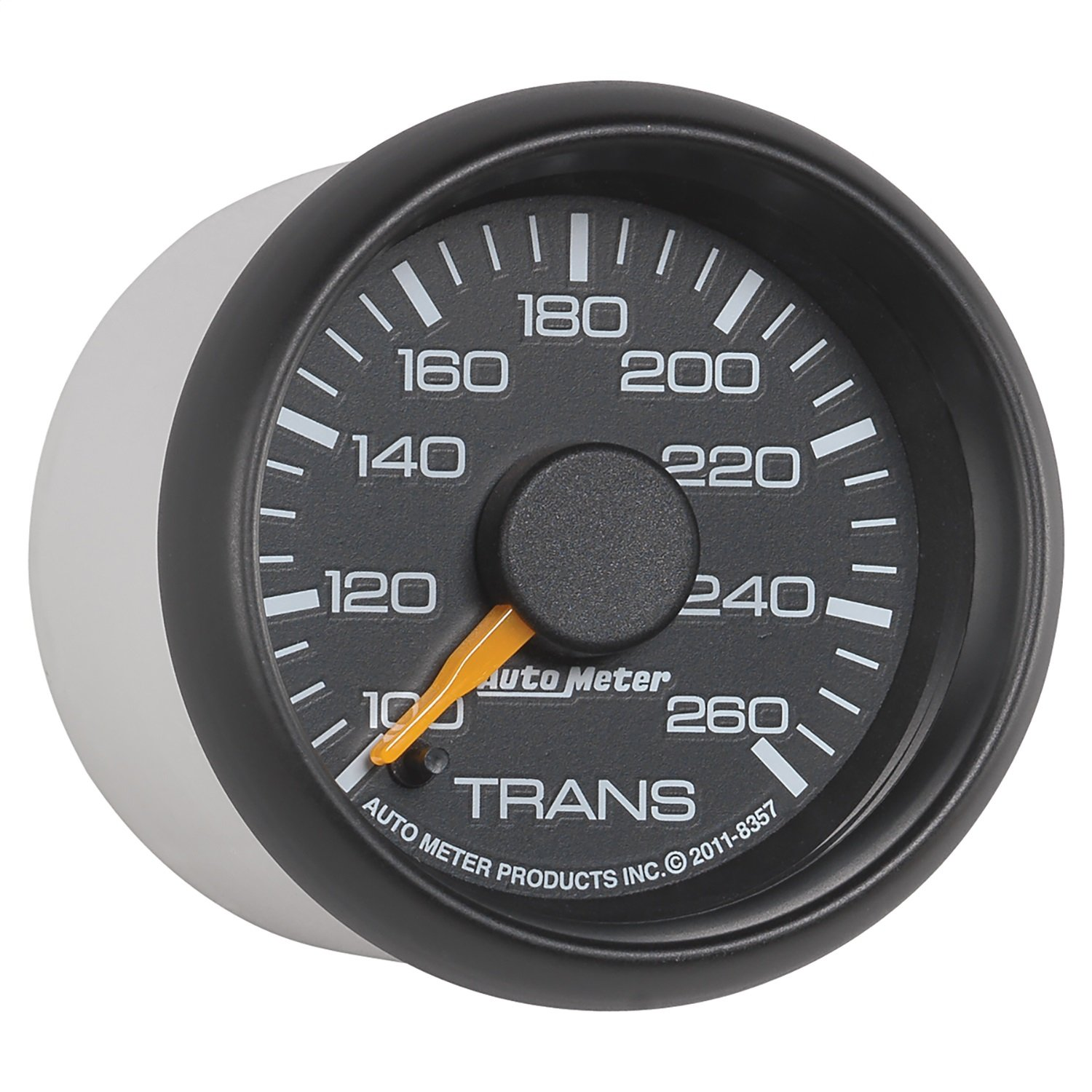 Auto Meter 8357 Chevy Factory Match Electric Transmission Temperature Gauge by Auto Meter