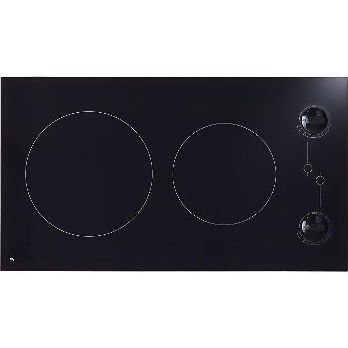 Cocina vitrocerámica 2 Fuegos negro 3000 W: Amazon.es ...