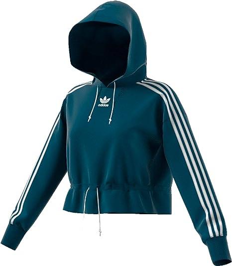Sweat à Capuche Femme Adidas Bellista Cropped: