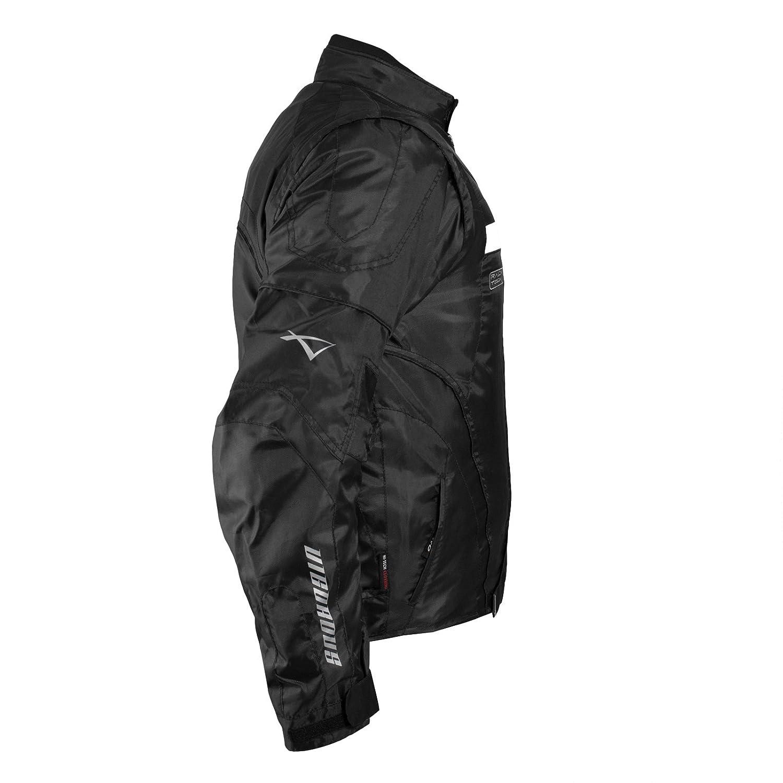 A-pro Blouson Oxford Nylon Homme Textile CE Protections Thermique Moto gris 3XL