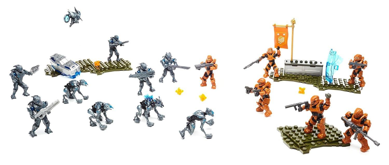 Mega Bloks Halo Building Set - Promethean Strike