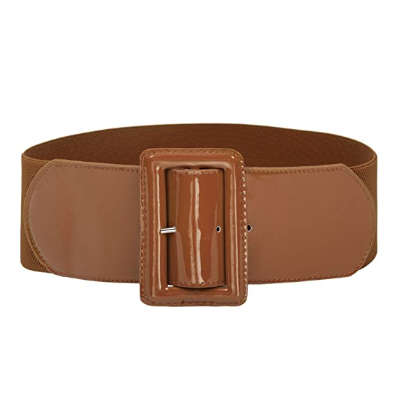 A History of Belts 1920-1960 Grace Karin Women Fashion Classic Buckle Stretchy Waist Belt CL010620 $10.99 AT vintagedancer.com