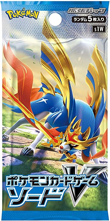 Pokemon Juego de cartas espada y escudo Expansión Pack Espada Caja ...