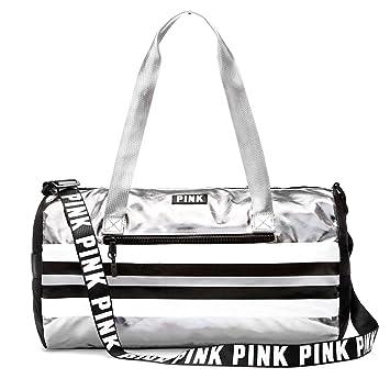 b227e4fbaa9a5 Amazon.com | Victoria's Secret PINK Mini Duffle 17