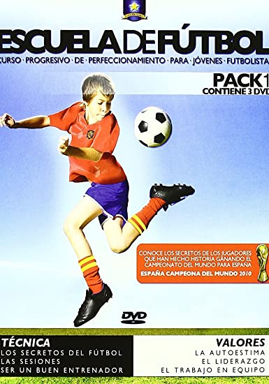Libro aprendizaje de fútbol